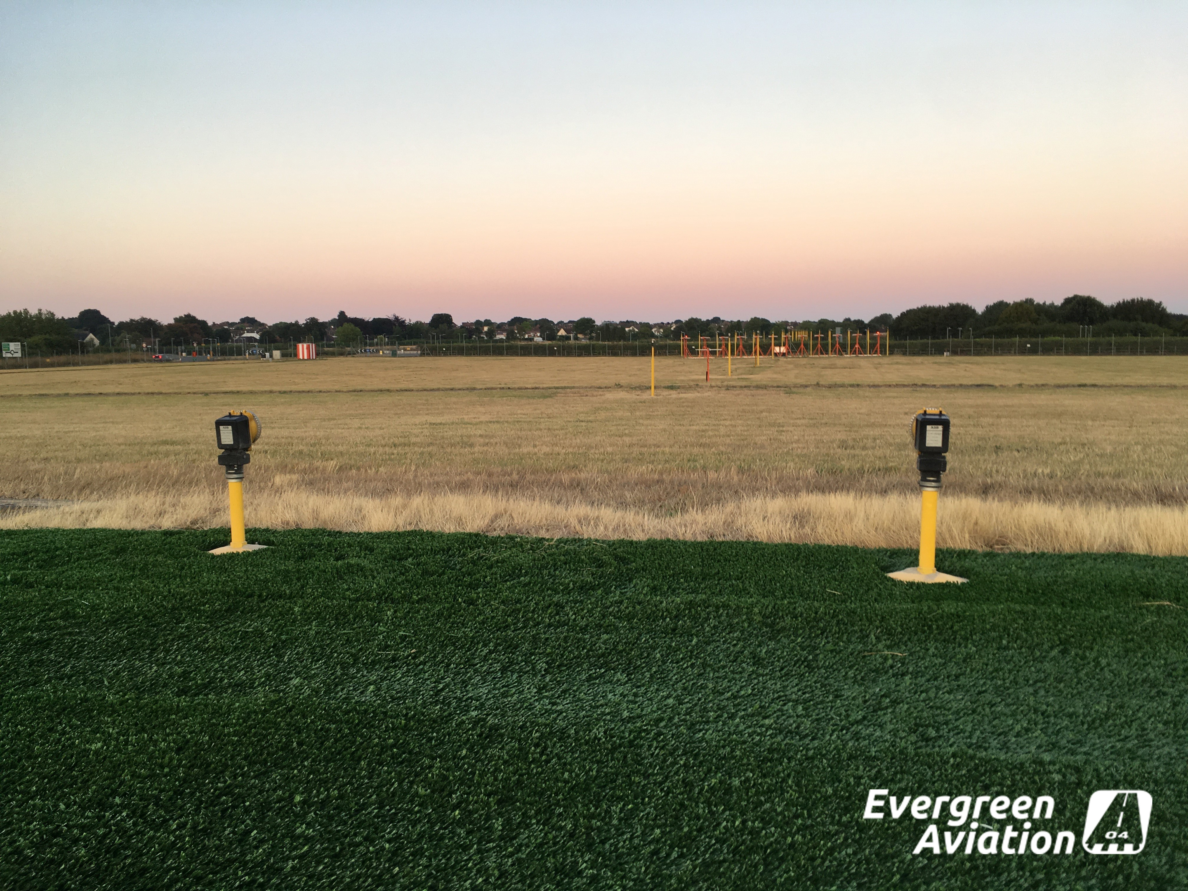 Evergreen Aviation AGAT Installation Jetblast area RWY 05, EGMC