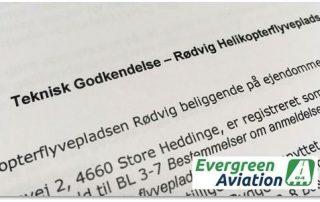 Teknisk Godkendelse _ Roedvig Hekikopterflyveplads - Evergreen Aviation Denmark