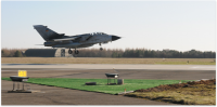 Karup Airport, Military Air Base in Karup Evergreen Aviation 20014
