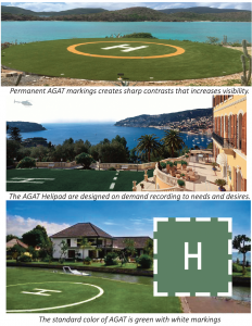 Helipad images from brochure - Evergreen Aviation