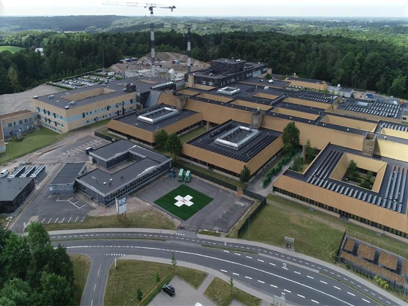 Sygehus Soenderjylland - Hospital Helipad - 2018 - Evergreen Aviation