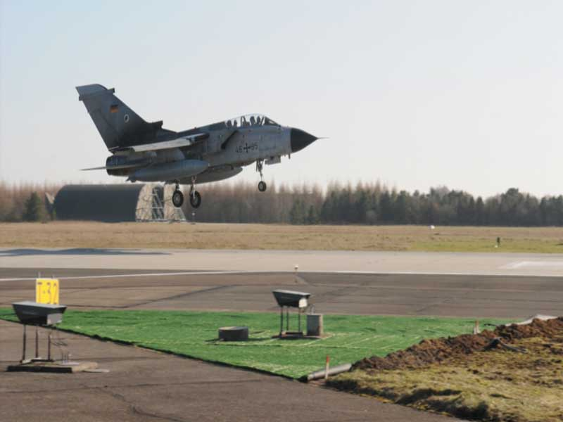 Karup Airport, Military air base in Karup - 2014 - Evergreen Aviation