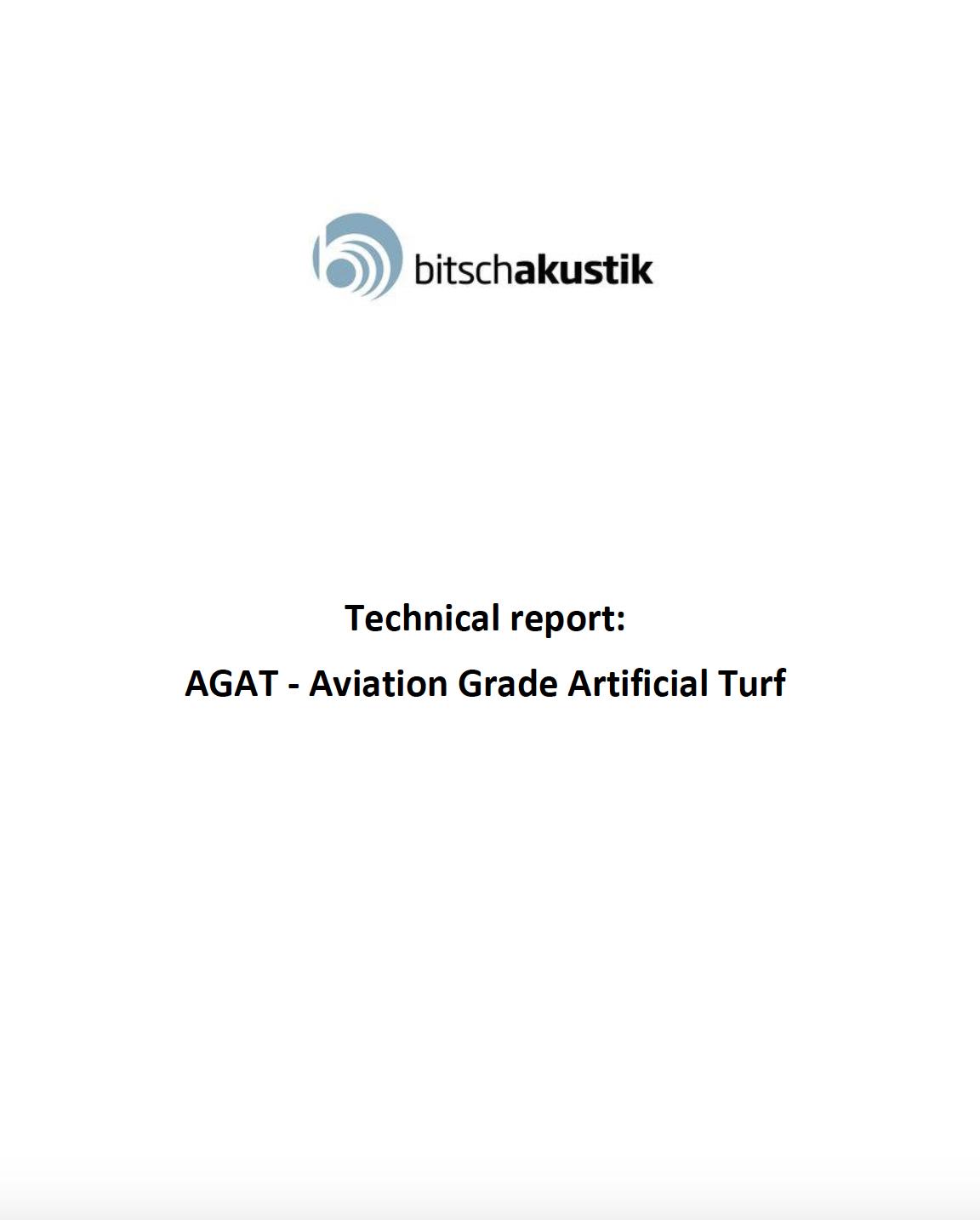 Test Report - Bitsch Akustik folder 28082019 cover